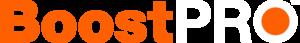 Boost PRO orange and white logo