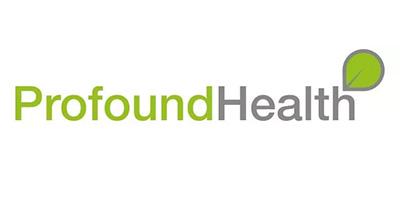 Green and grey Profound Health logo