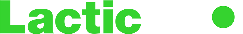 Lactic PRO green and white logo